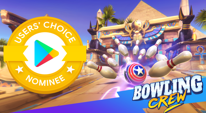 Bowling Crew Is Nominated for User's Choice 2020!